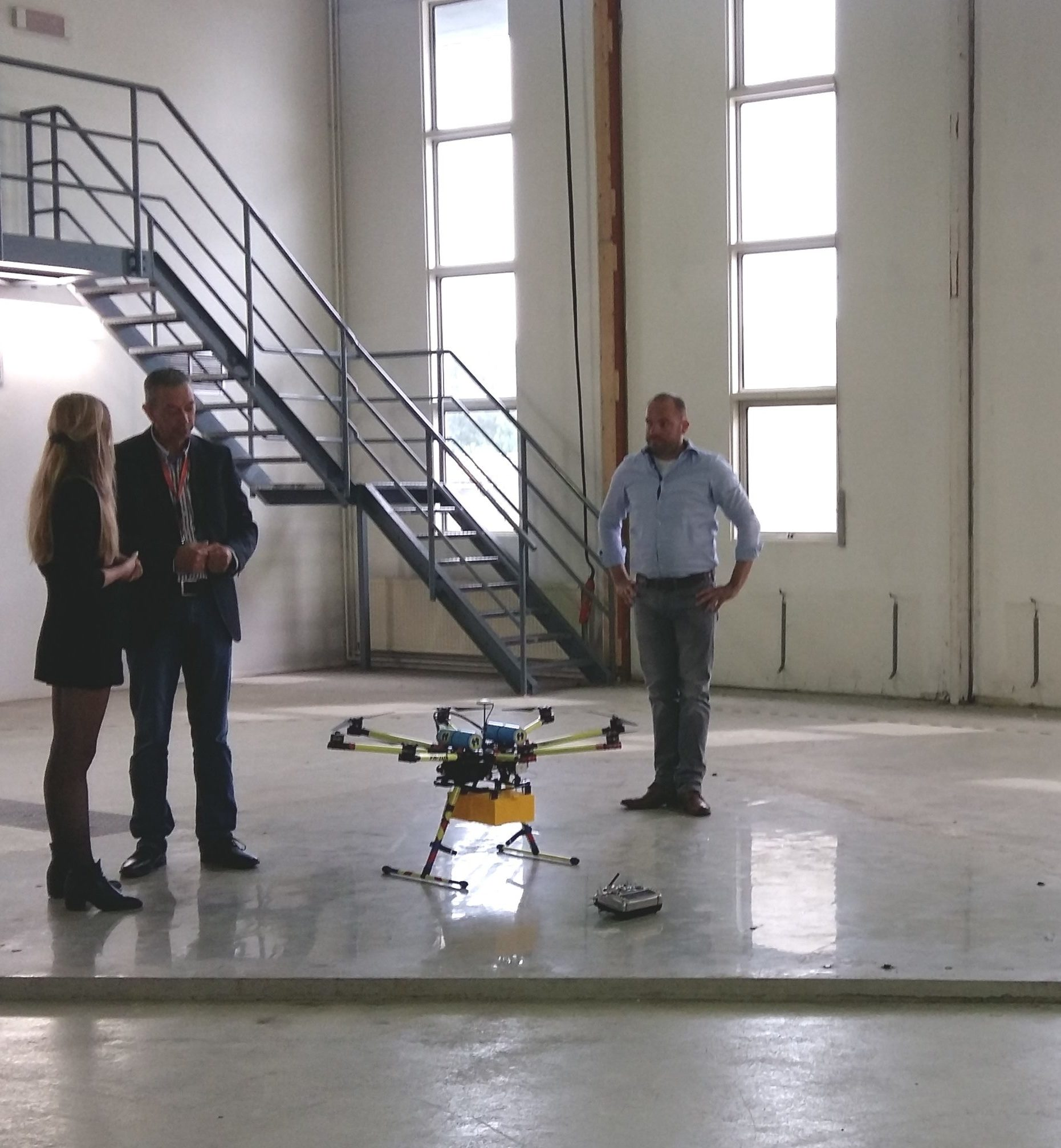 DroneHub GAE in film over innovatief Noord-Nederland